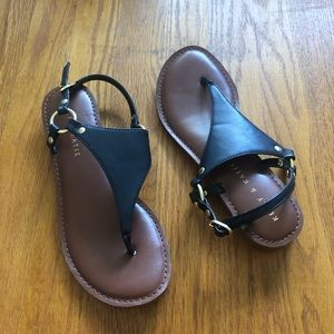 Kelly and Katie Black Sandals 7